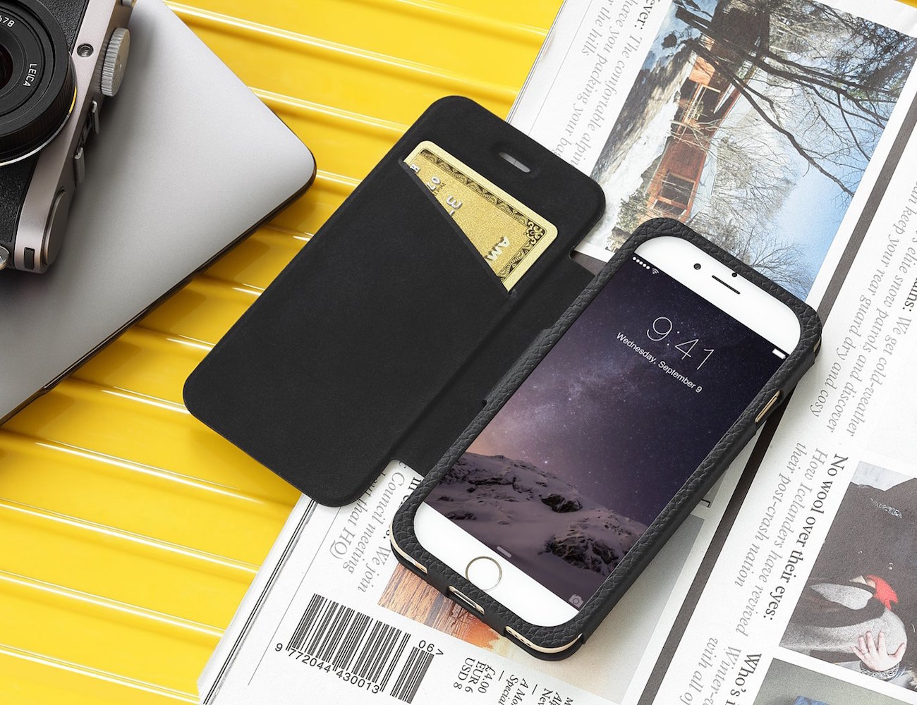 Quattro Folio iPhone Case by Just Mobile