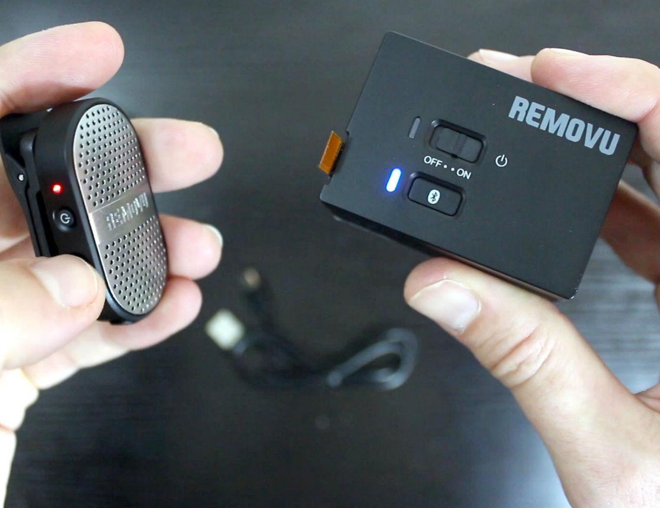 REMOVU Bluetooth Audio Receiver and Waterproof Microphone