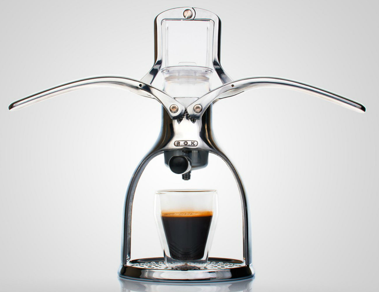 ROK Espresso Maker - With a Manual, Non-Electric Design Review The Gadget Flow