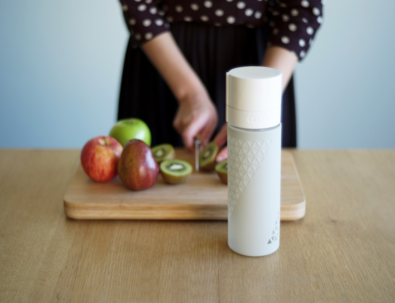SANS Juice and Smoothie Preserving Travel Bottle