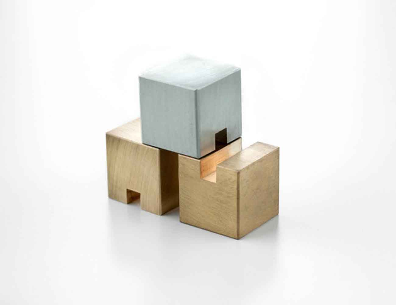 STACKS – Metal Cube Desk Accessories & Desk Organizer