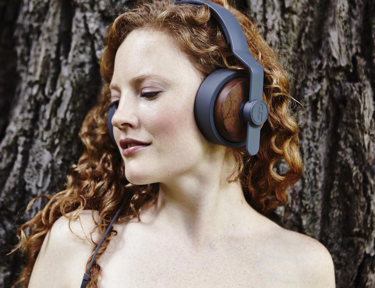 Solid Wood Over Ear Headphones by Grain Audio