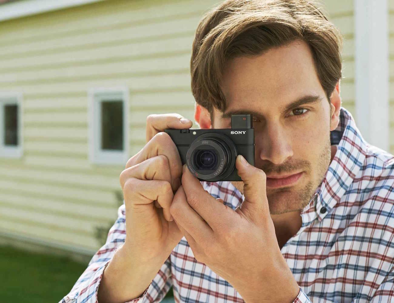 Sony RX100 IV Pocket Sized Camera