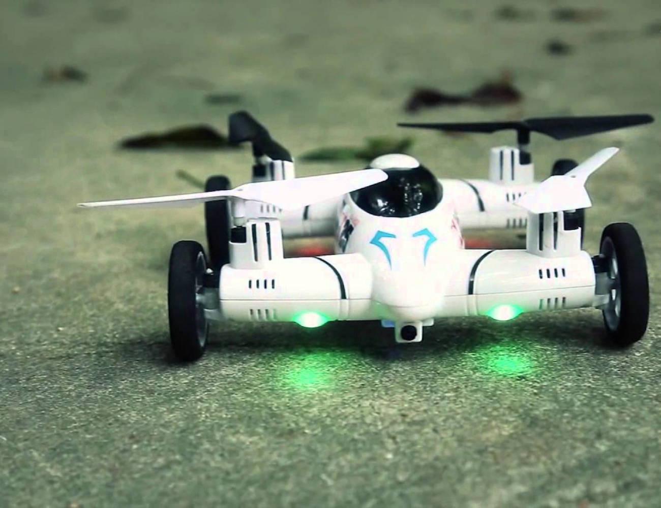 SpaceRails Flying Car