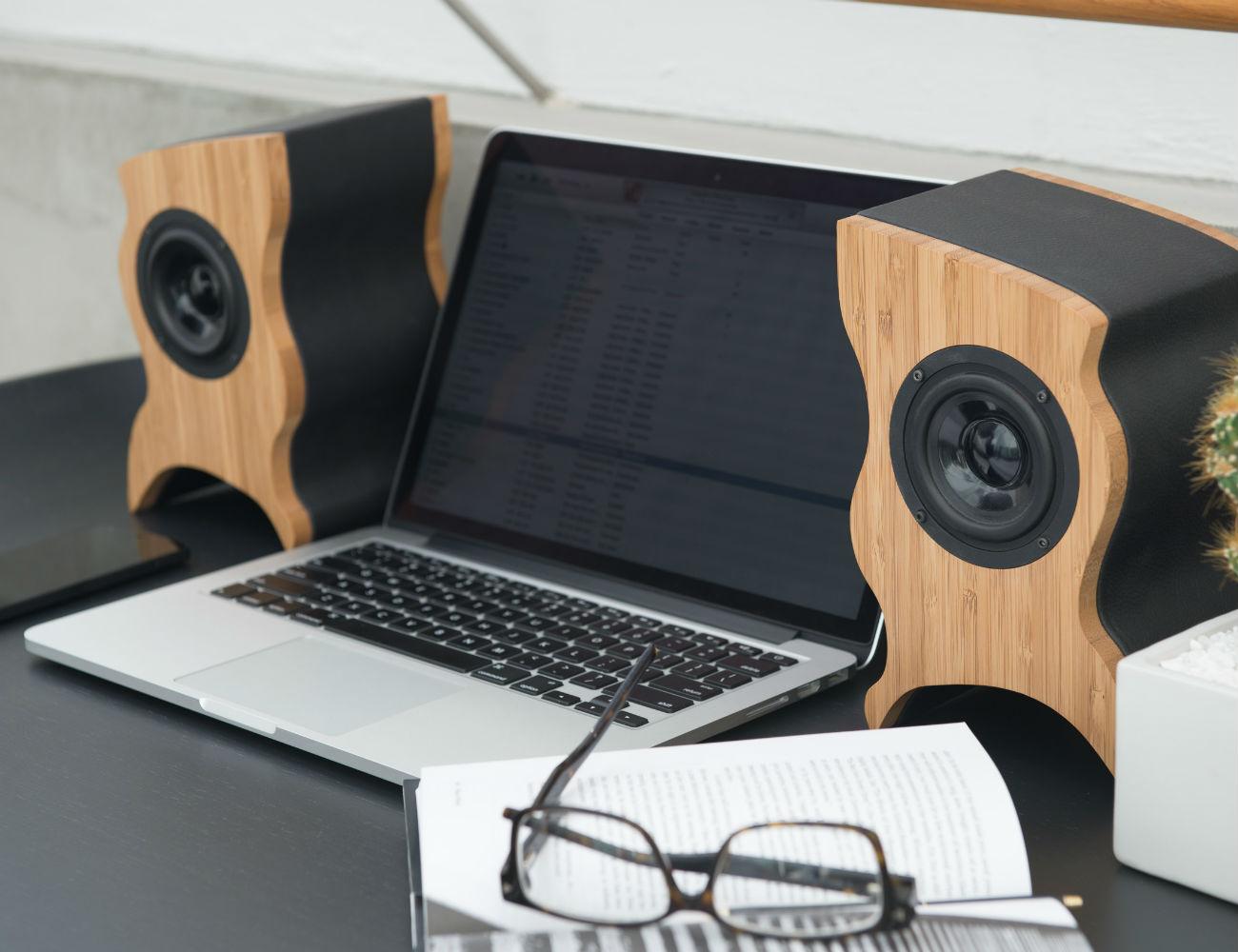 Talisman Desktop Speakers by Serene Audio