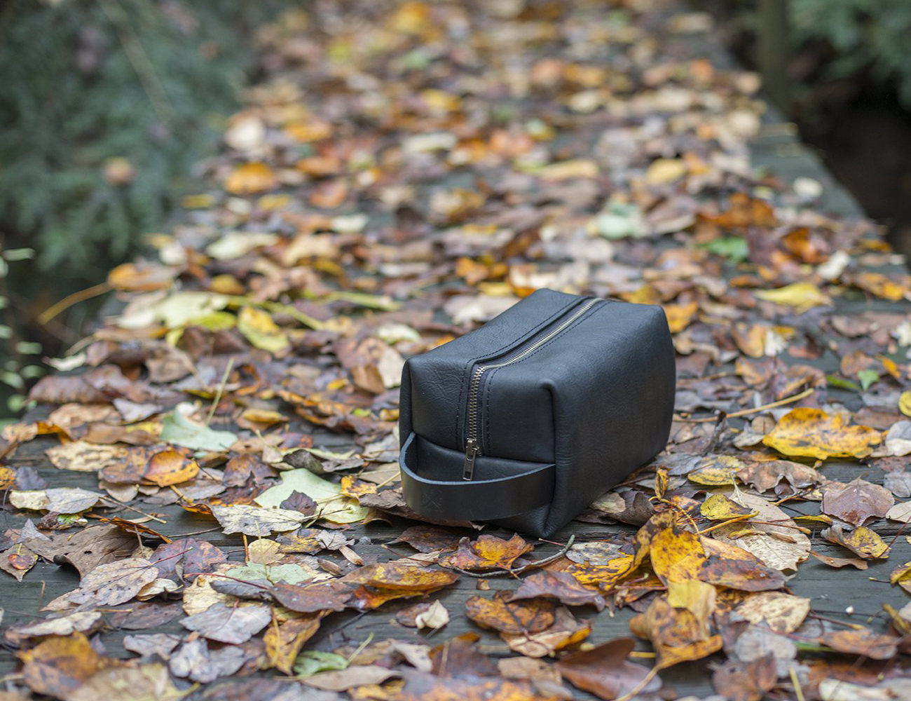 The Leather Dopp Kit by Go Forth Goods