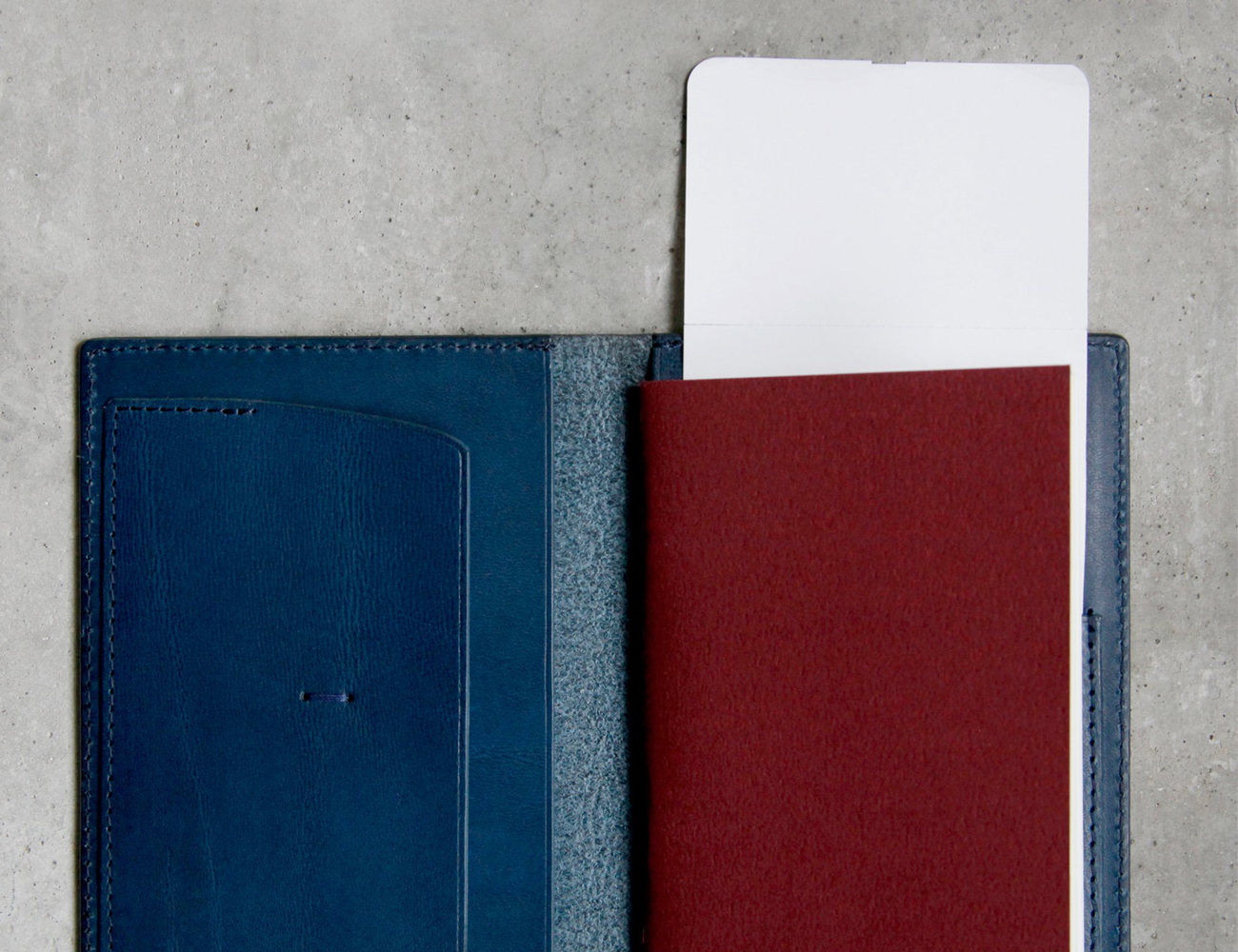 The Raven Passport Wallet by DRY & CO