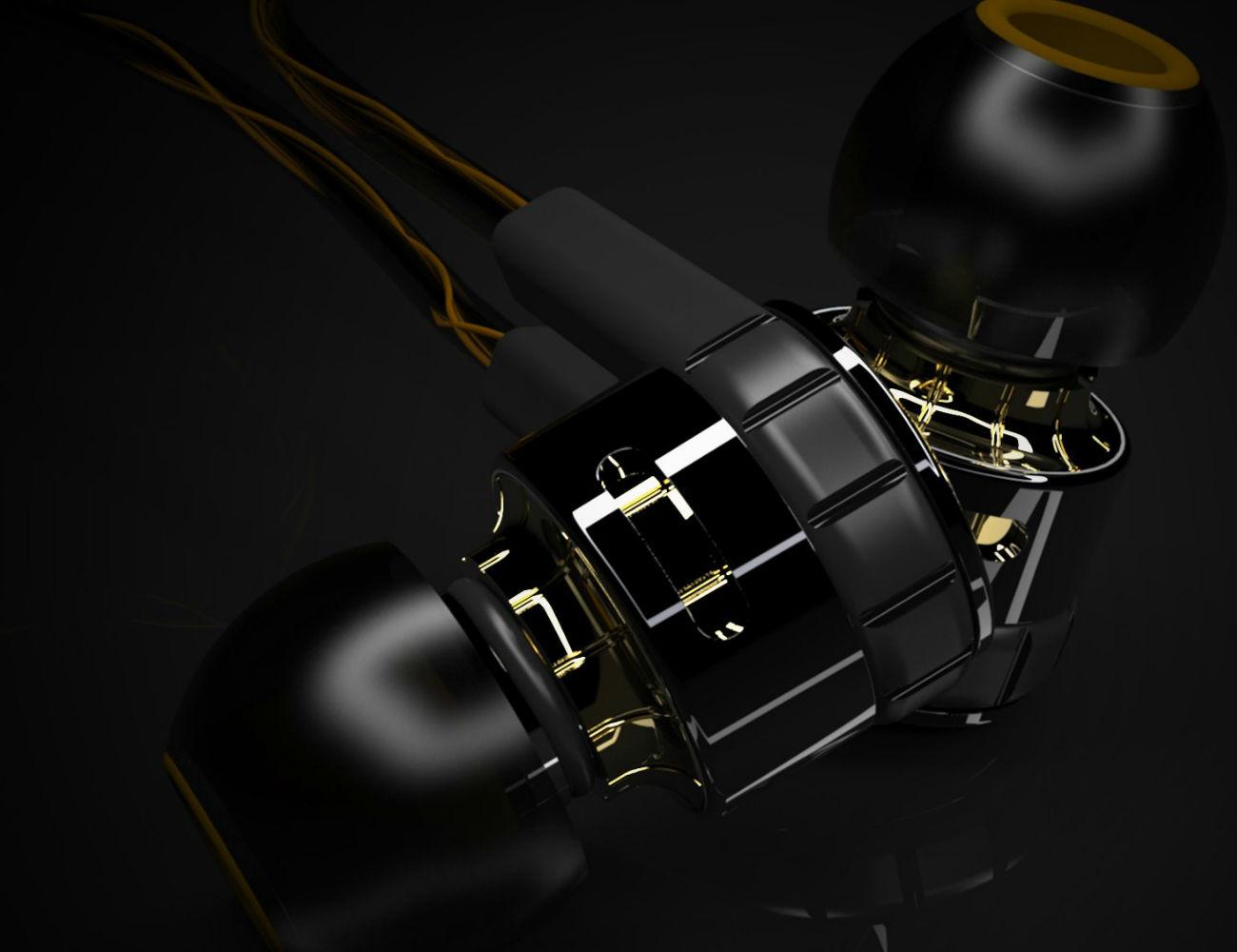 Torque Audio t096z Customizable Ear Buds