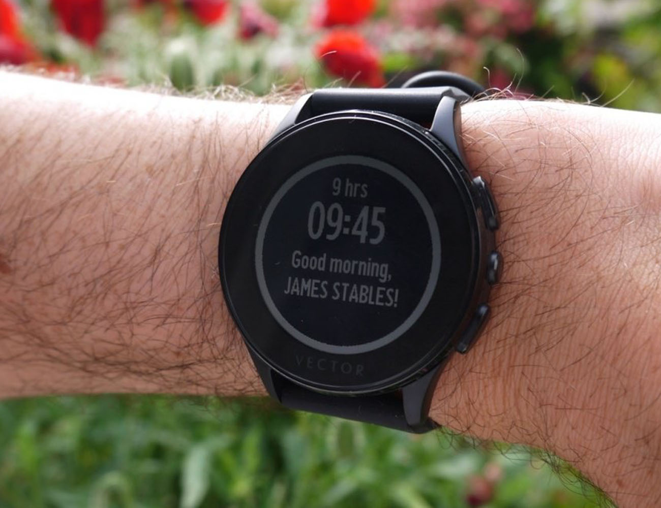 Vector Luna Smartwatch with 30-Day Battery Life