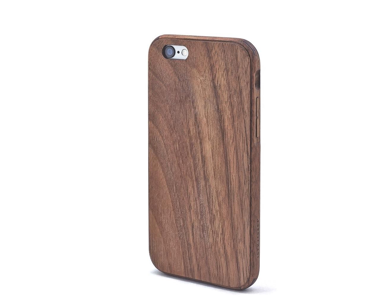 ... Grovemade Walnut iPhone Case