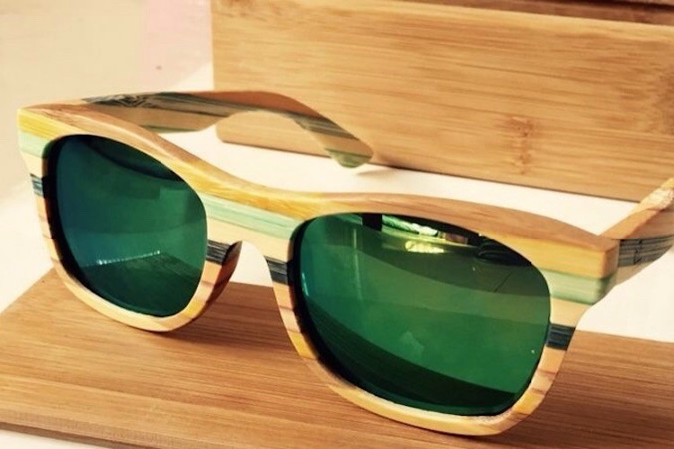 Wooden+Frame+Sunglasses