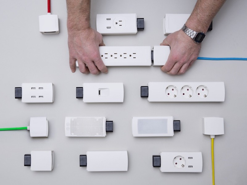 YOUMO Is an Innovative Modular Power Strip