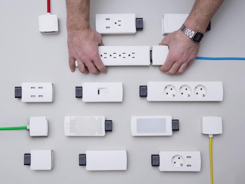 YOUMO Is an Innovative Modular Power Strip