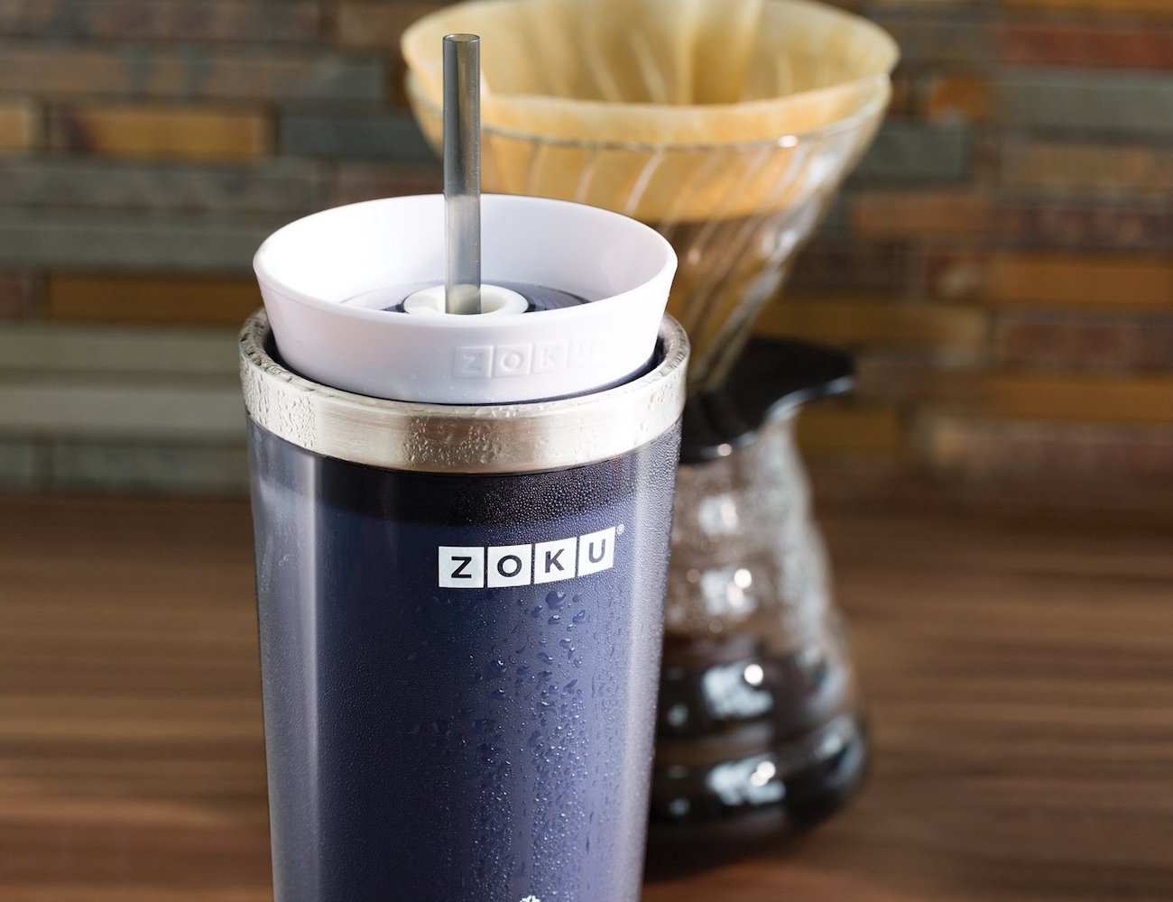 Zoku Iced Coffee Maker Travel Mug