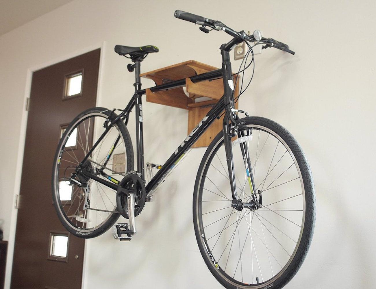 Bamboo Fold Away Bike Rack by COR