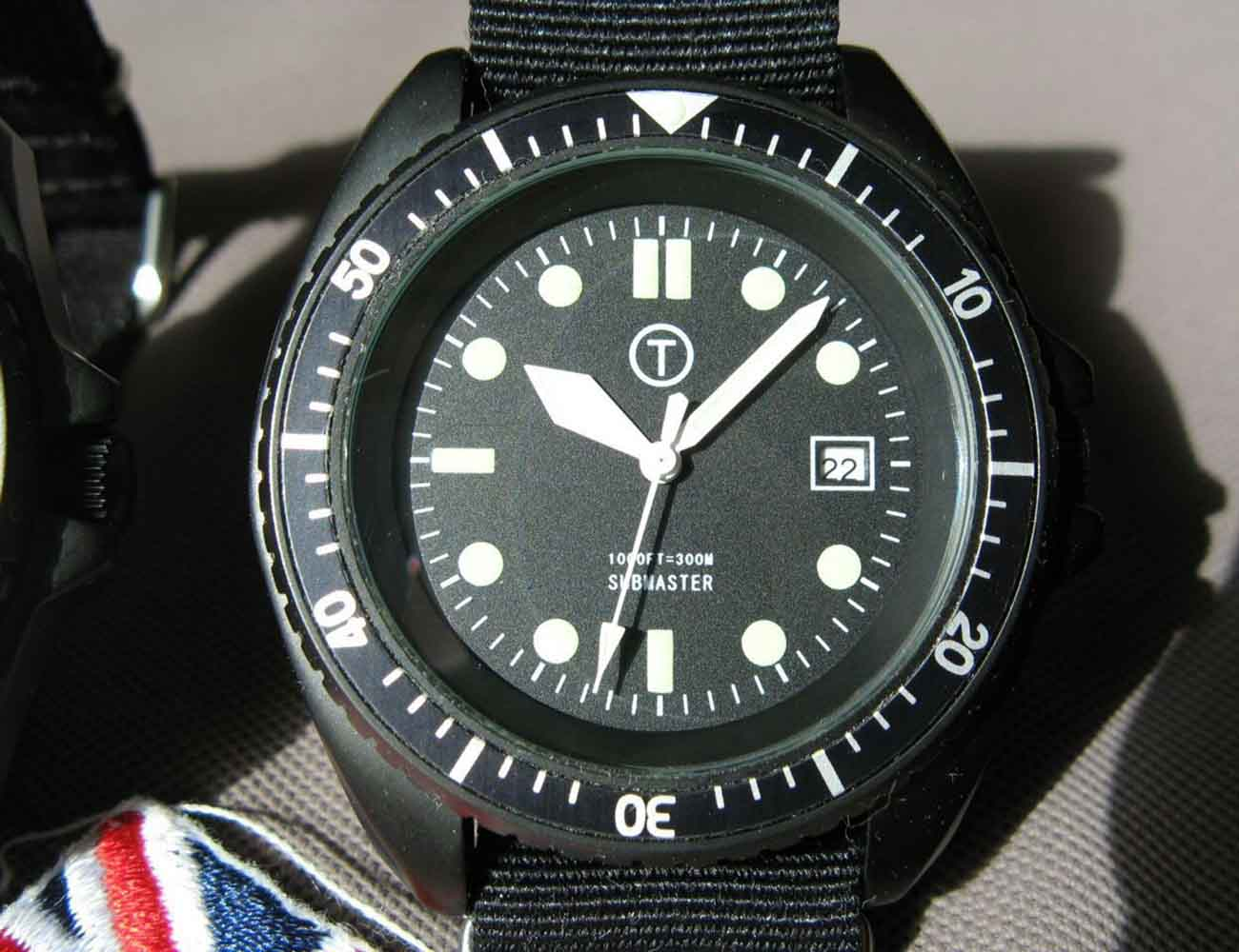 Cooper Submaster Automatic Military Divers Watch