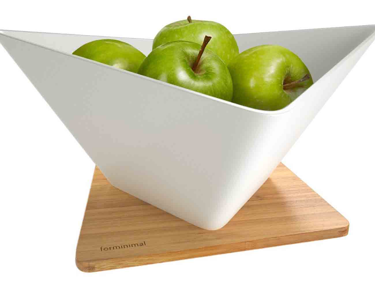 Draining Fruit Bowl by black+blum