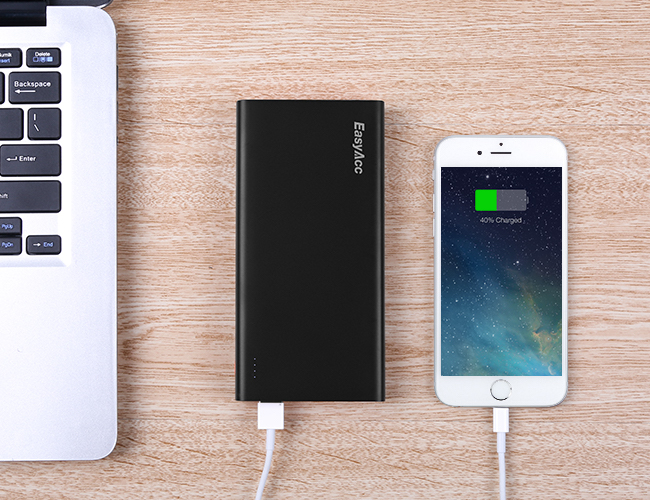 EasyAcc 2nd Gen. 15000mAh Power Bank