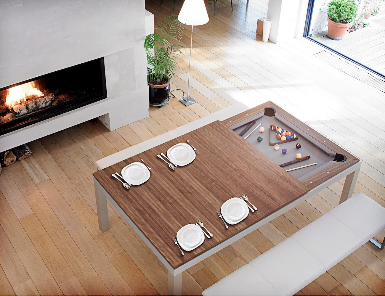 Fusion Pool Table And Dining Table 187 Gadget Flow