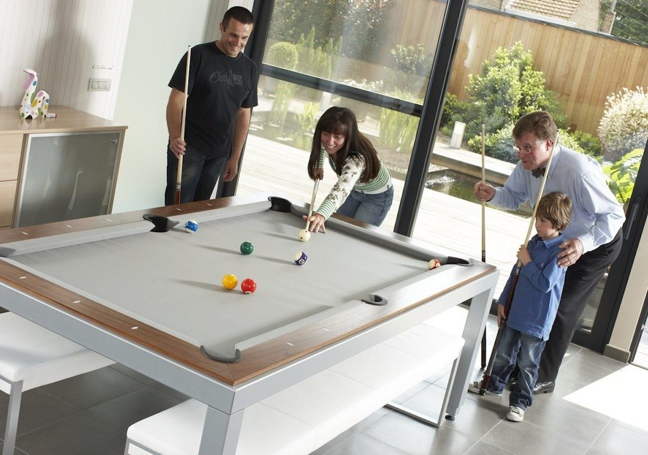 Fusion Pool Table And Dining