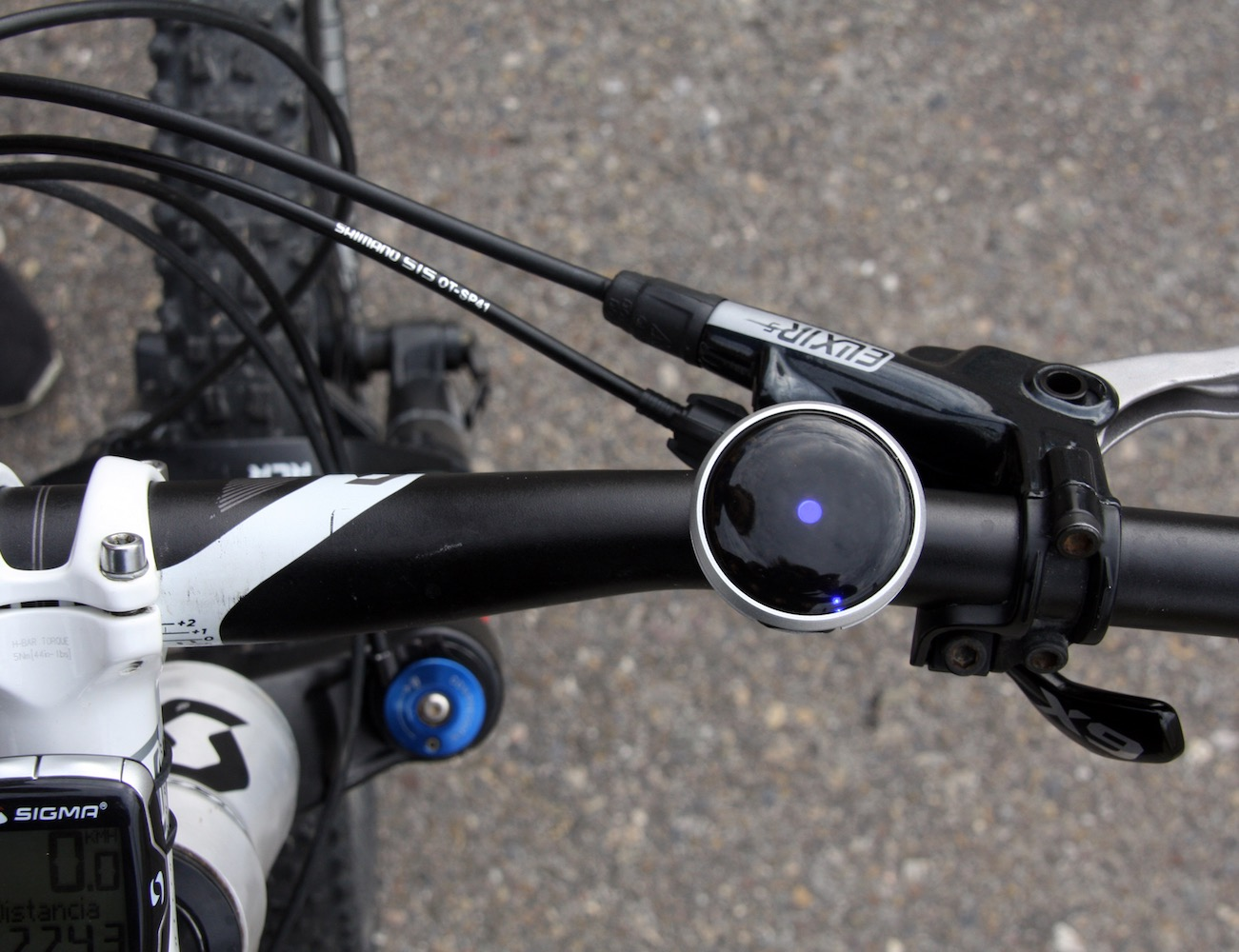 HAIZE – Minimalist Navigation for Urban Cyclists