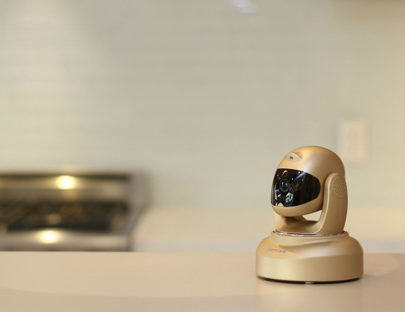 Helmet – The Smart Home Video Monitor by iFamCare
