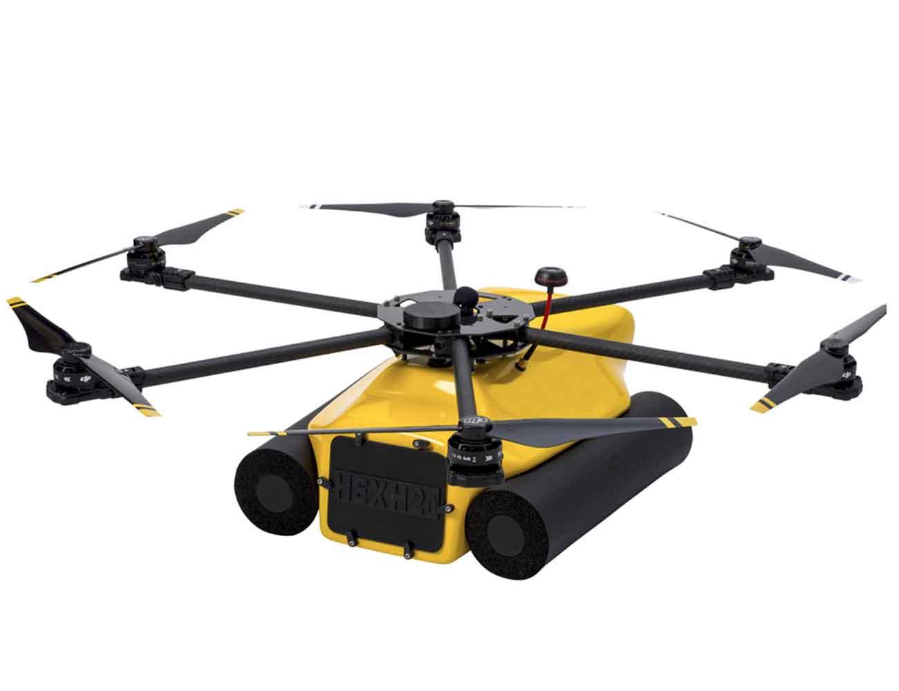 HexH2o – The Waterproof Hexcopter