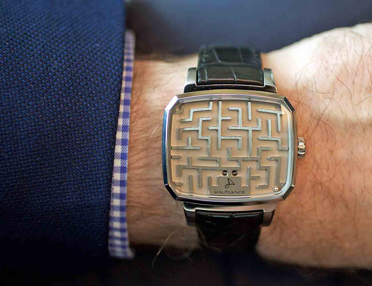 Labyrinth Maze Watch by Hautlence