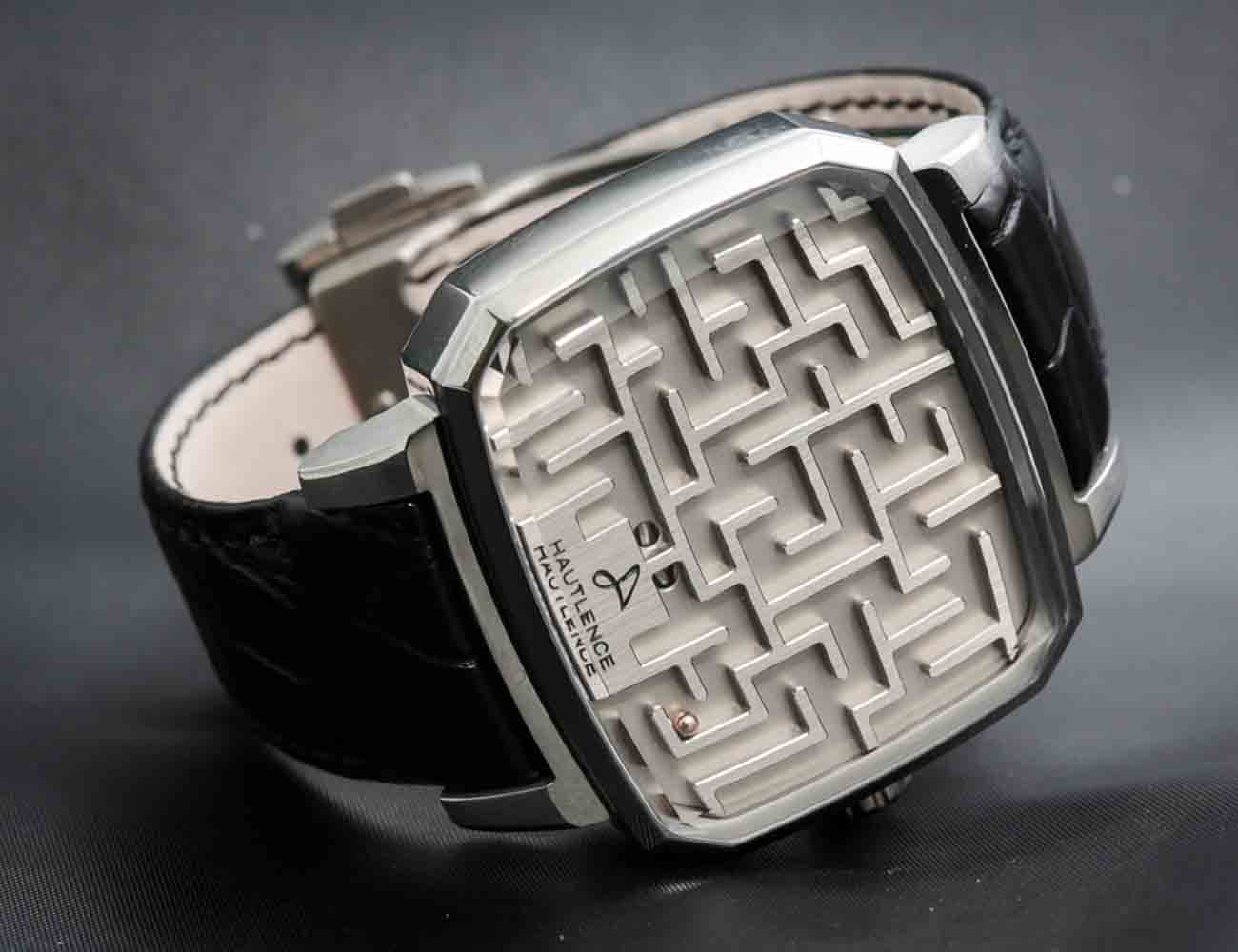 Labyrinth Maze Watch by Hautlence