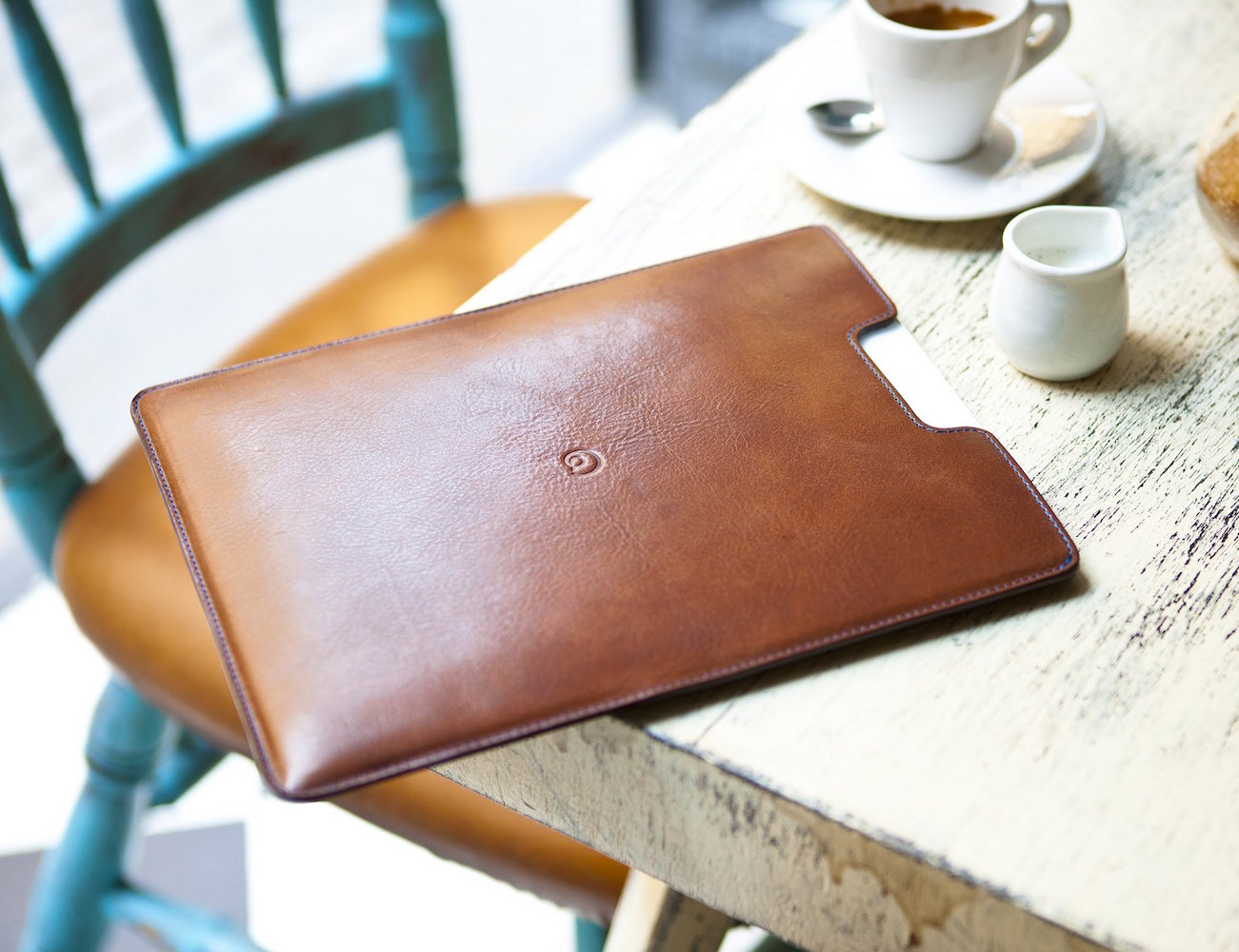 Leather iPad Sleeve by Danny P.
