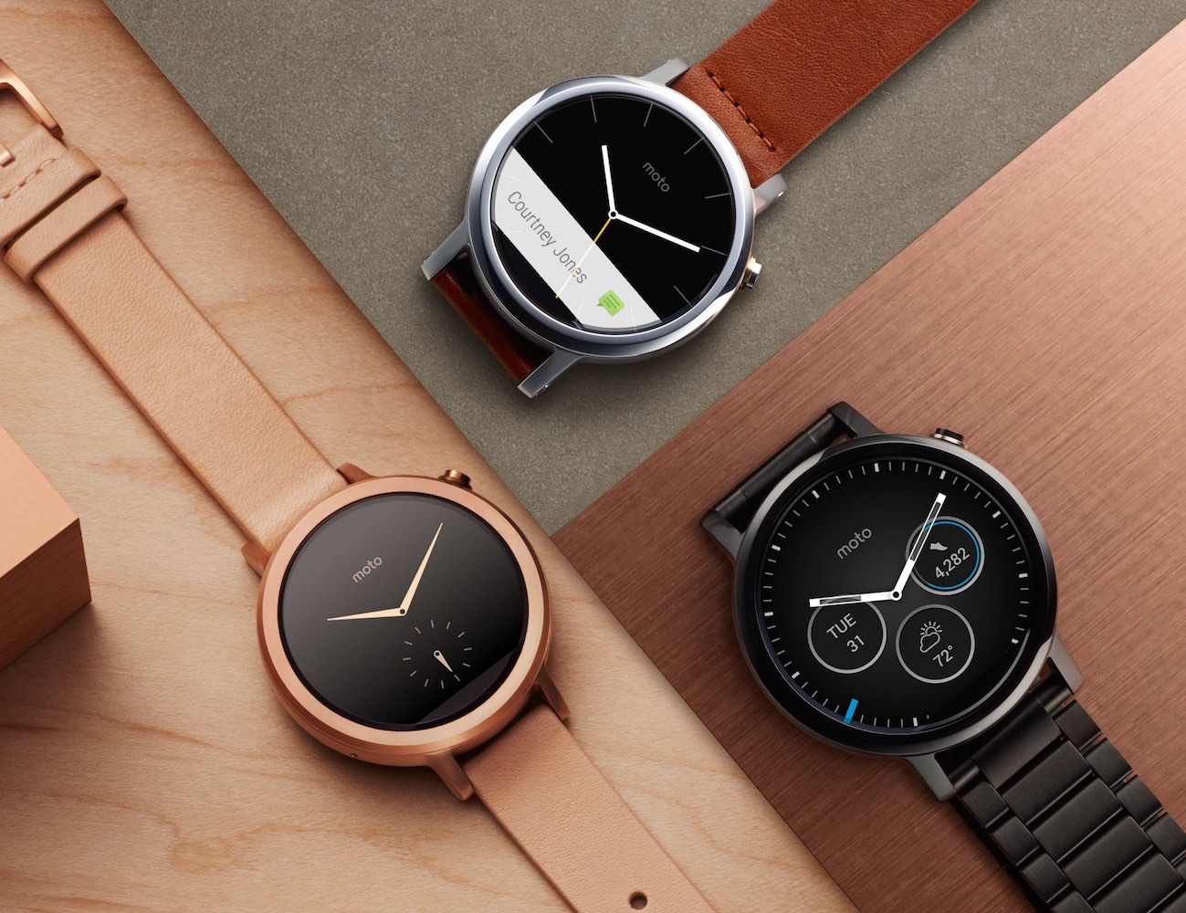 Motorola 2nd Generation Moto 360 Smartwatch