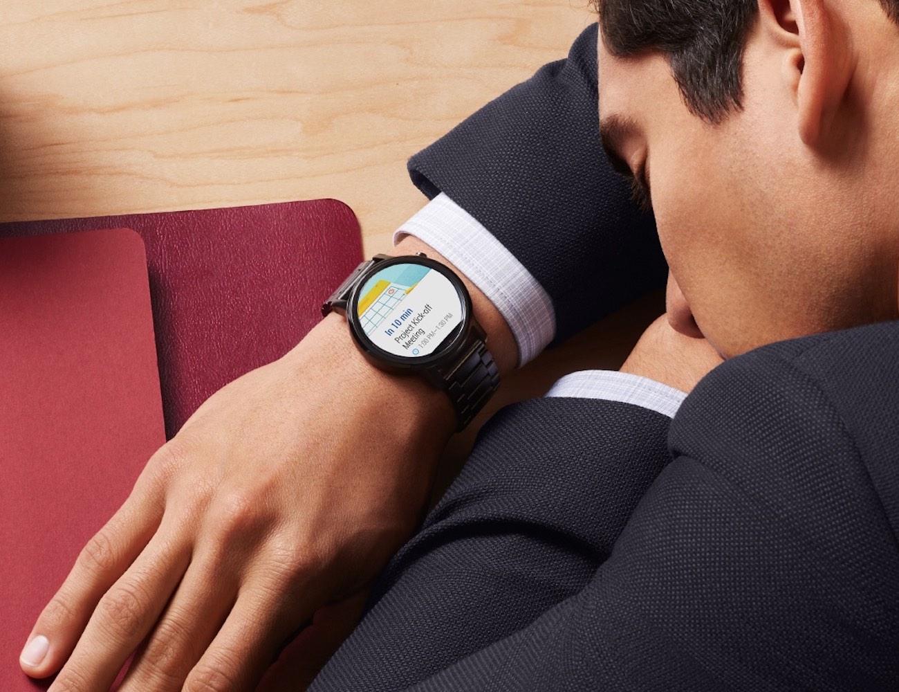 Motorola 2nd Generation Moto 360 Smartwatch