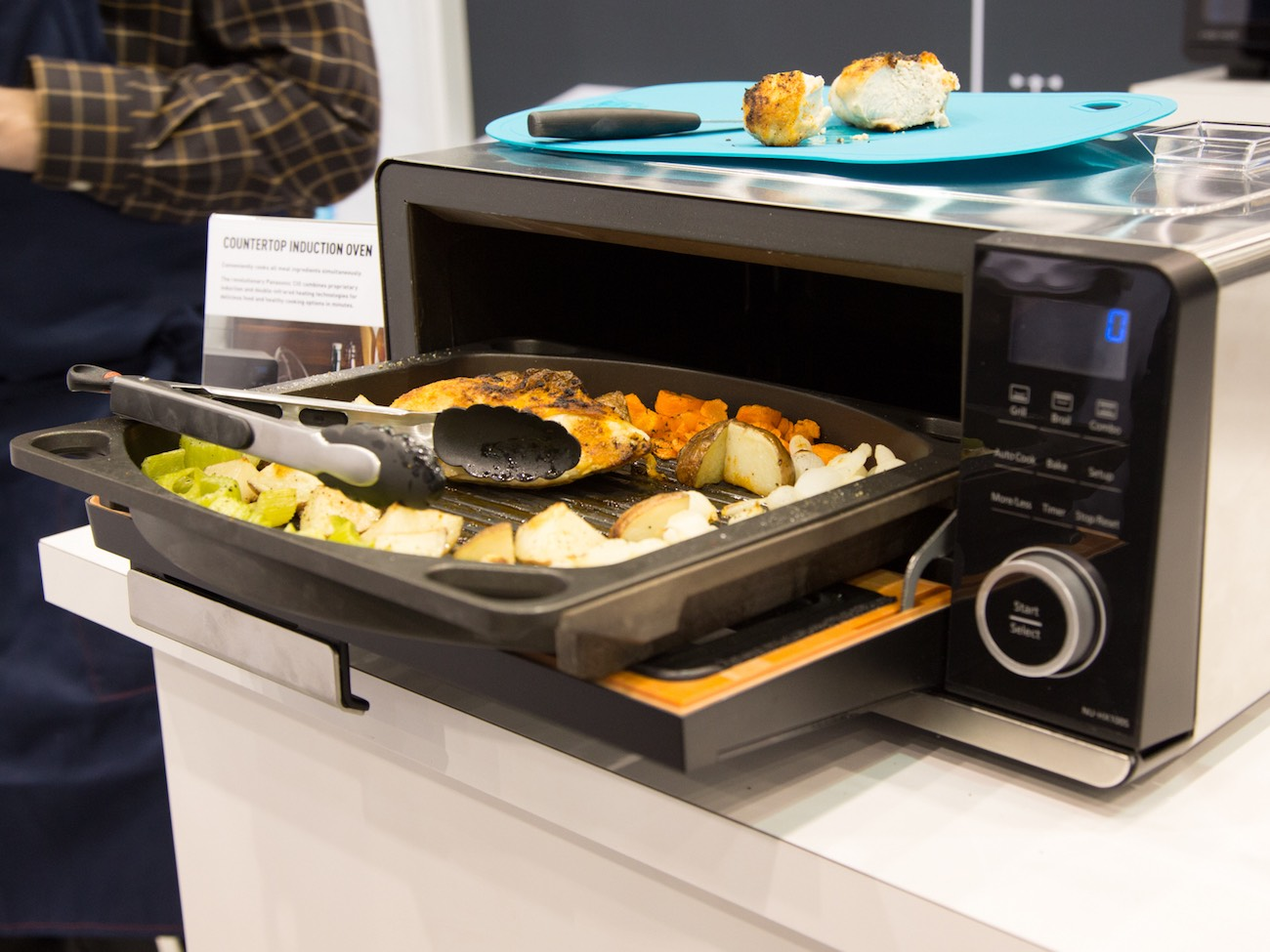 Panasonic Countertop Induction Oven 187 Gadget Flow