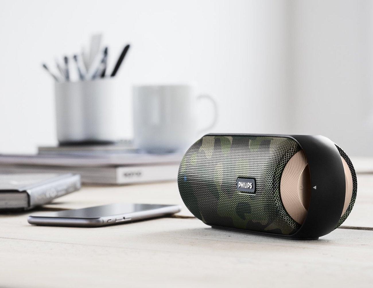 Philips Splash-Proof Wireless Portable Speaker
