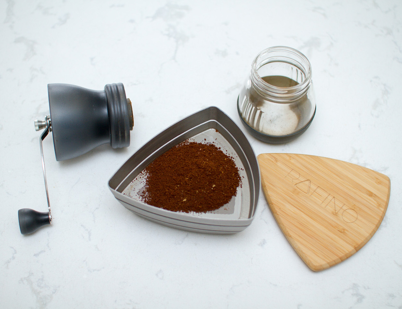 RAFINO – World's First Coffee Sieve System