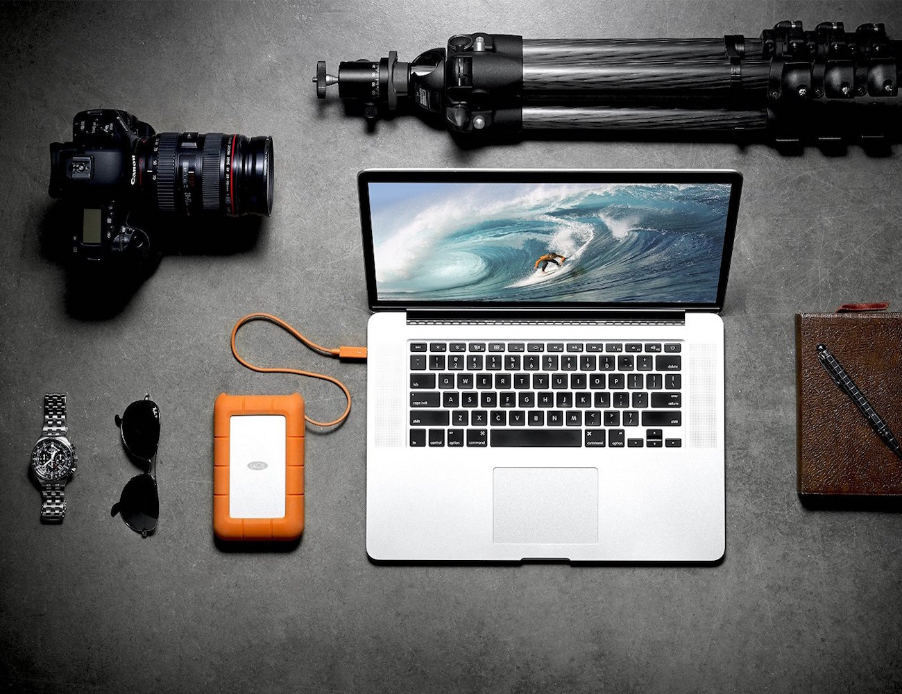RAID Thunderbolt and USB Hard Drive by LaCie