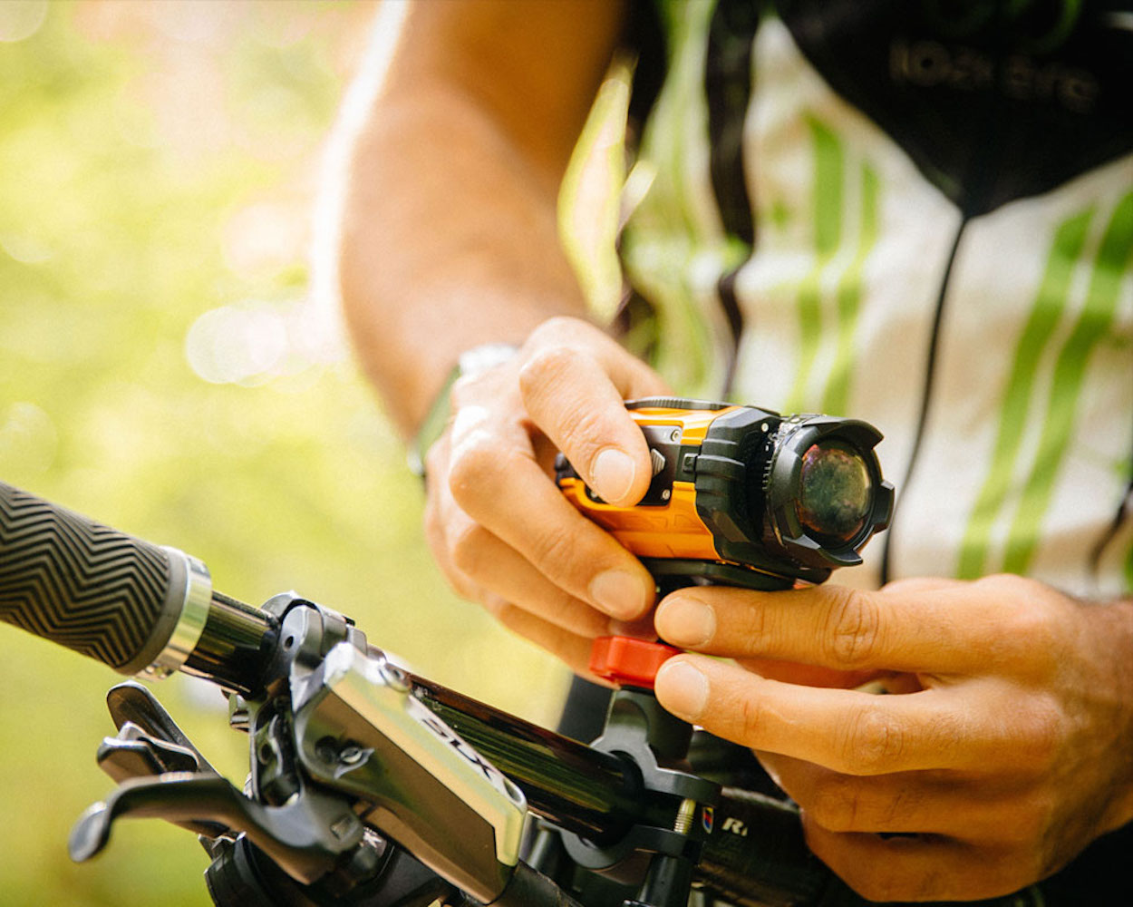 Ricoh WG-M1 Waterproof Action Camera