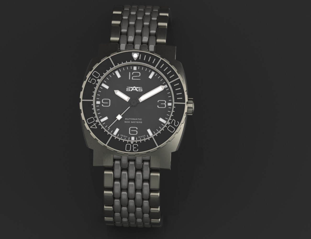 SEA 02 – Professional Commercial Divers Watch