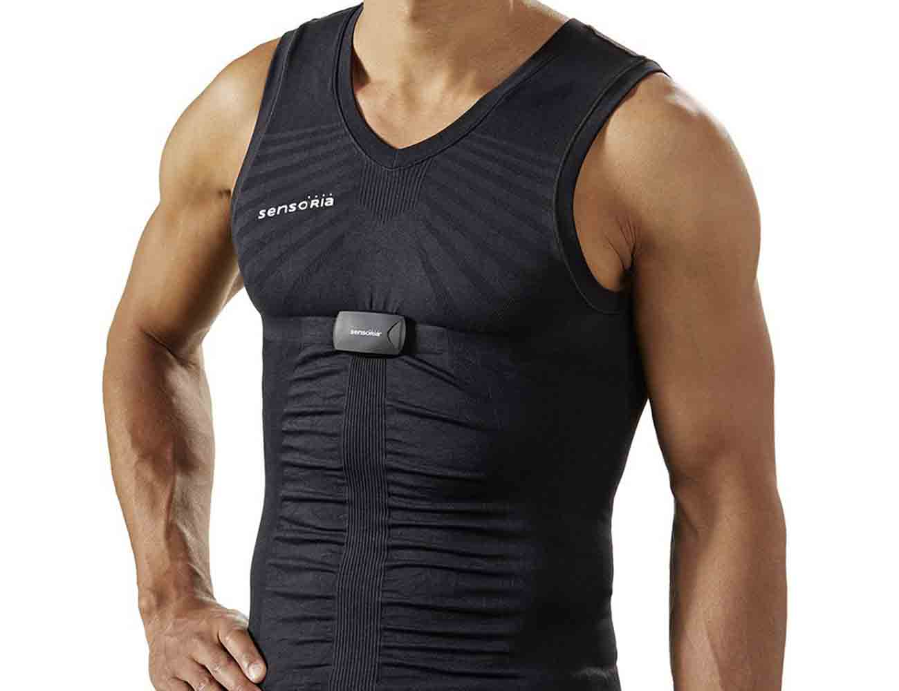 Sensoria Fitness Shirt with Heart Rate Monitor