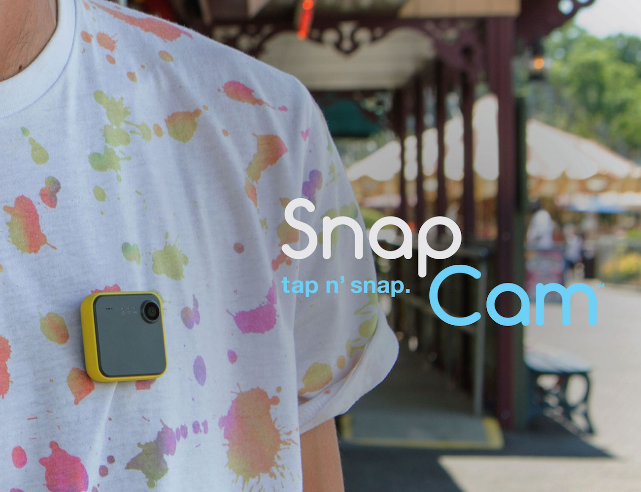 SnapCam+Wearable+HD+Camera+By+ION