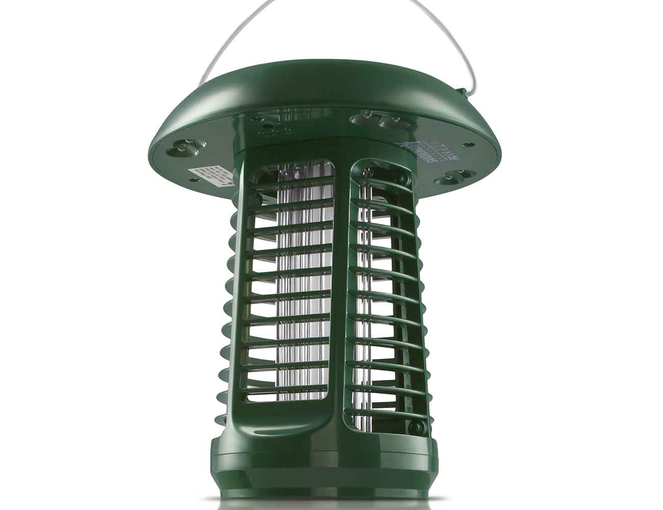 Solar-Powered UV Bug Zapper & LED Garden Lamp