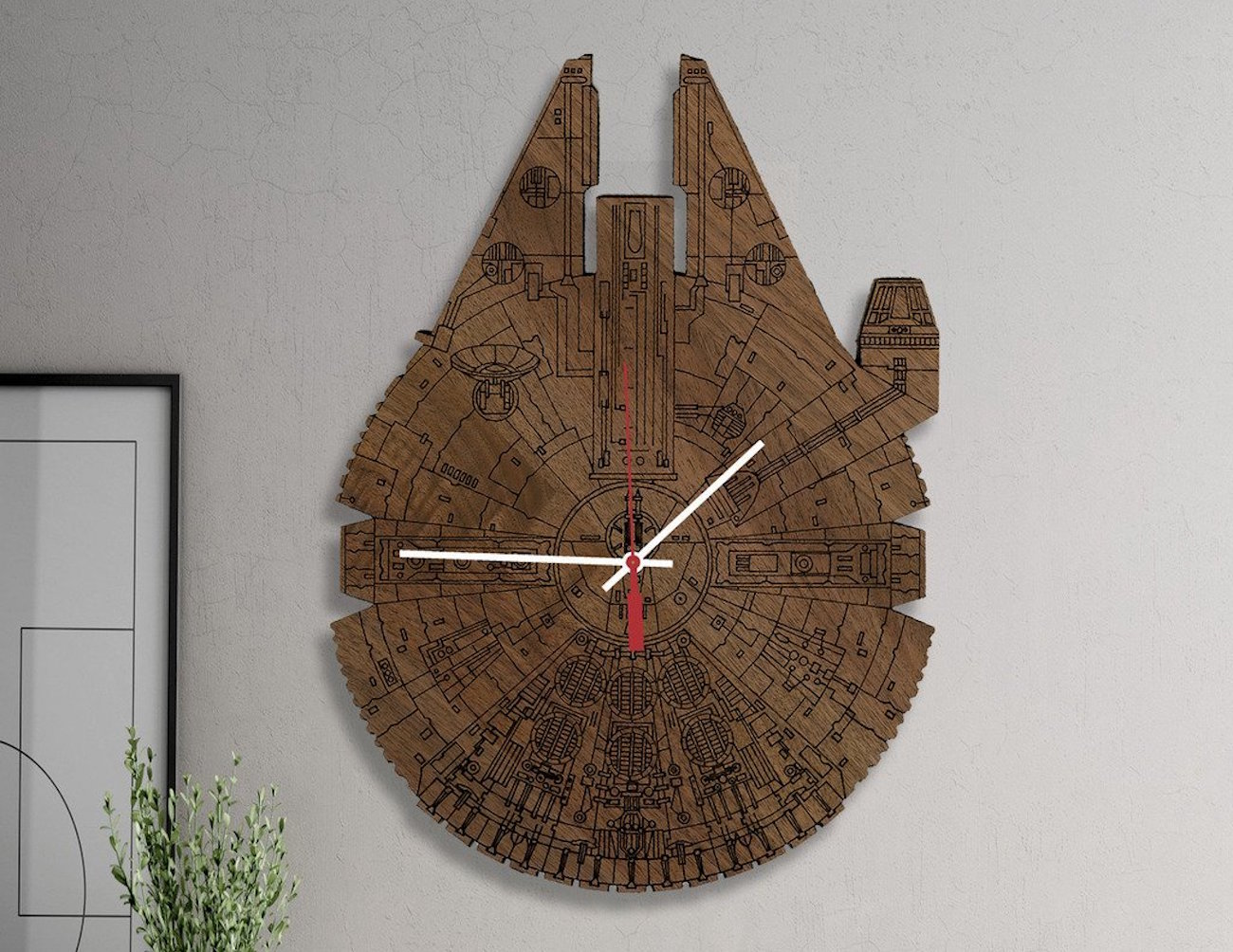 star-wars-millennium-falcon-wood-wall-clock-01