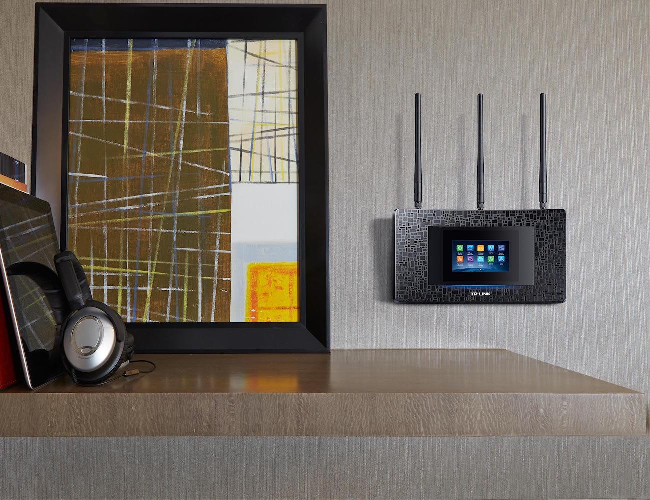 TP-LINK AC1900 Touchscreen Wi-Fi Range Extender