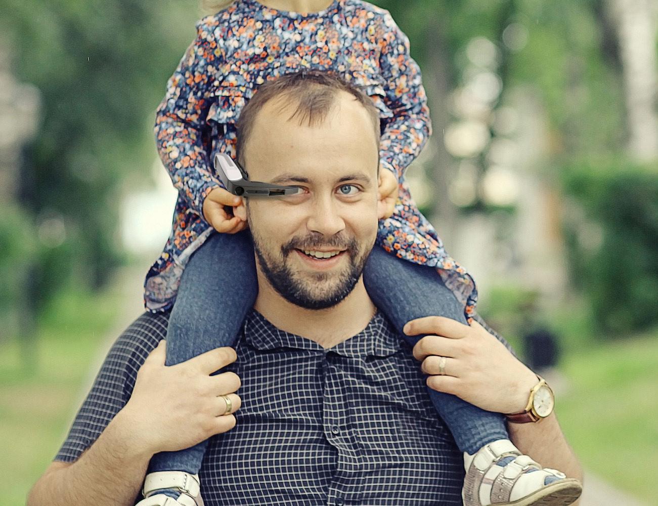 Telepathy Walker – Eyewear for Discoveries while Walking