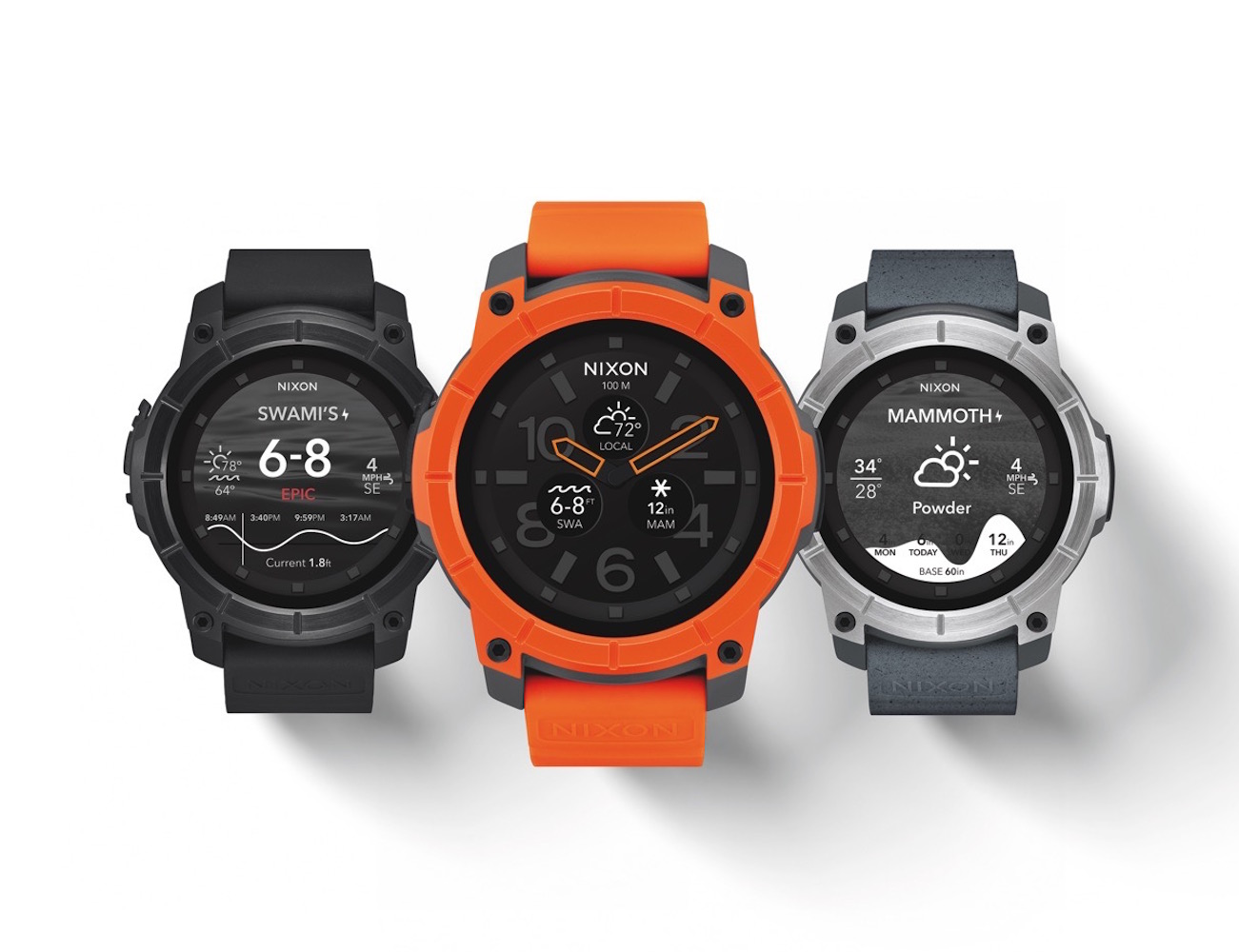 The Mission Smartwatch by Nixon