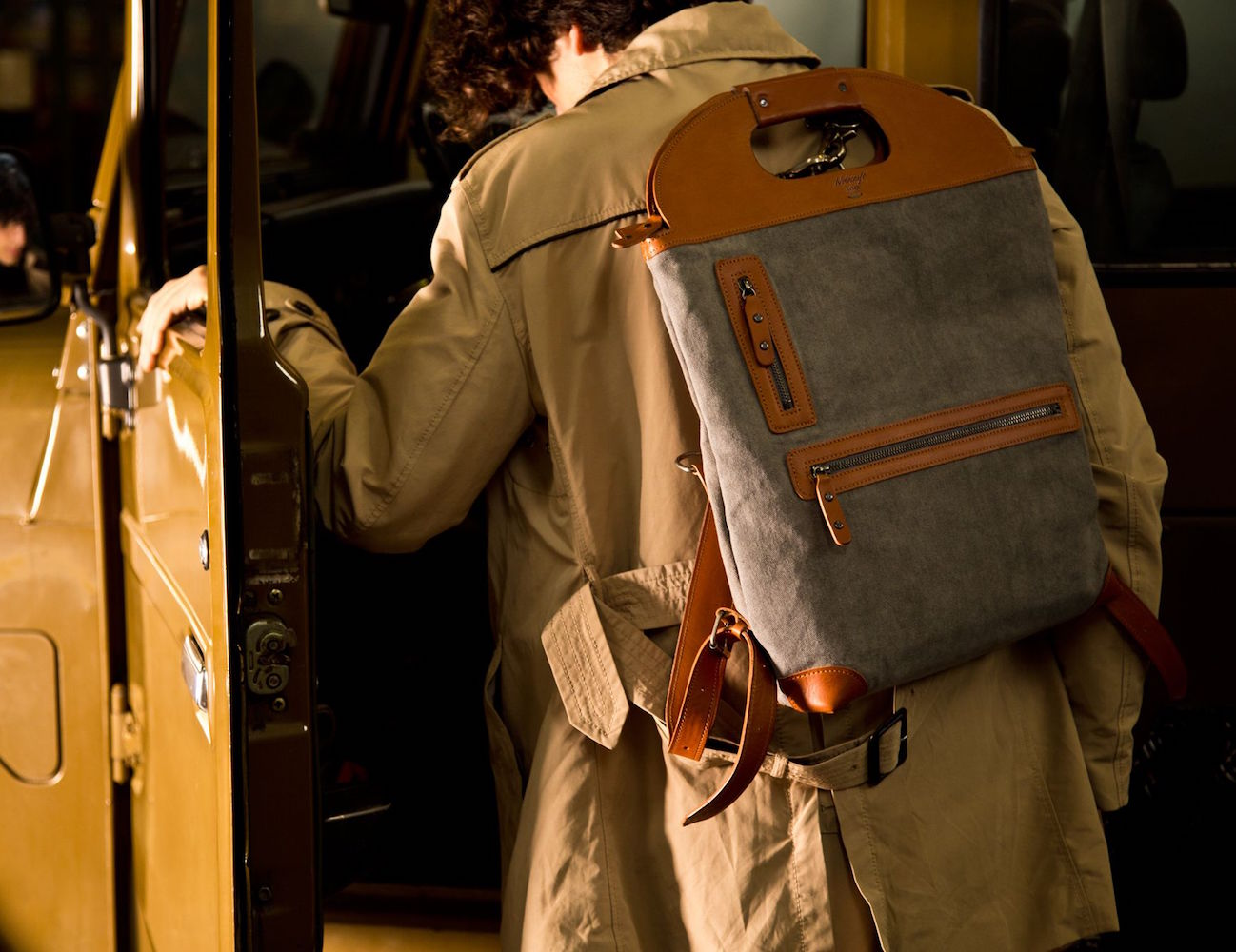 The Original Backpack by Wolecraft