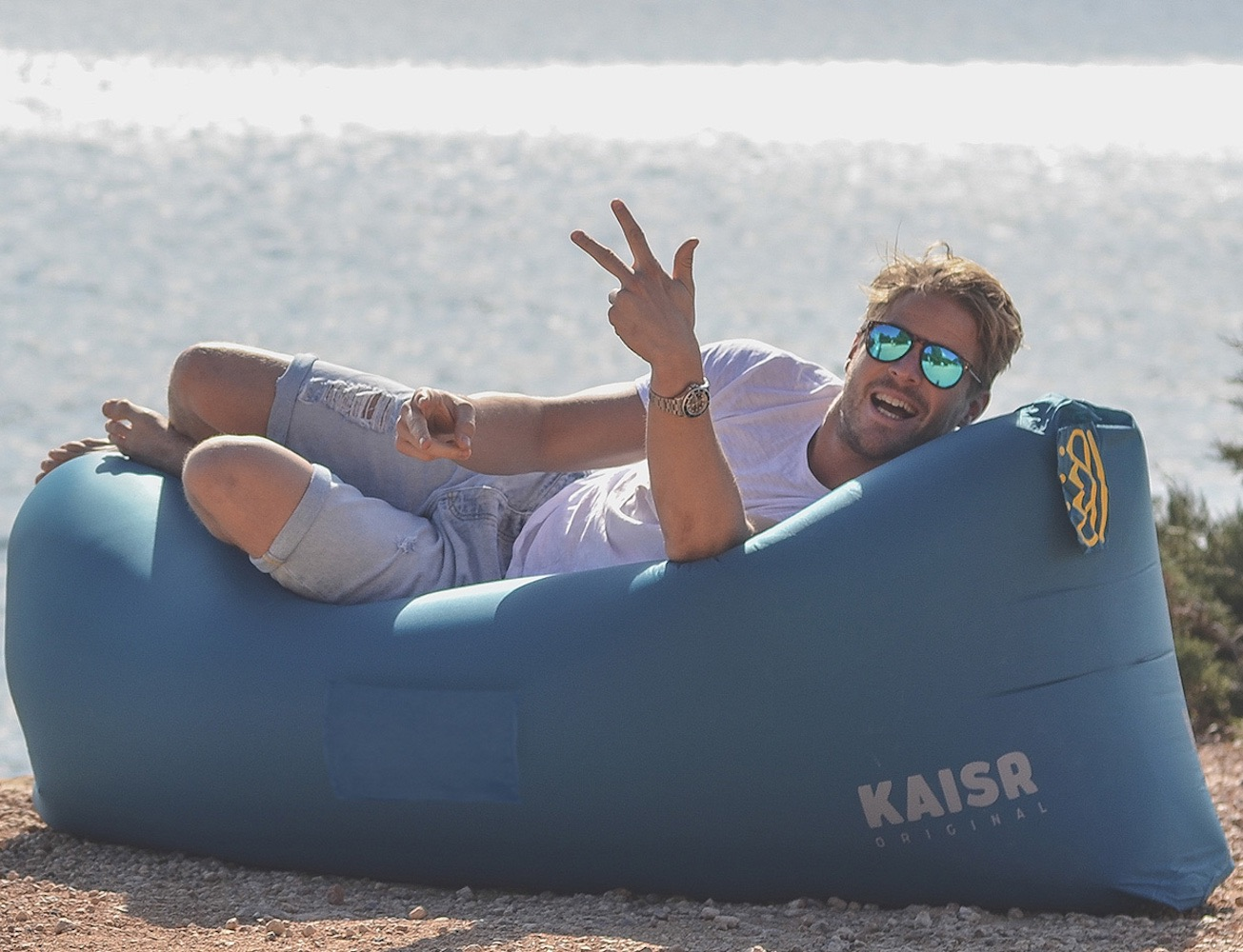Inflatable Table Kaisr Inflatable Air Lounge A Gadget Flow