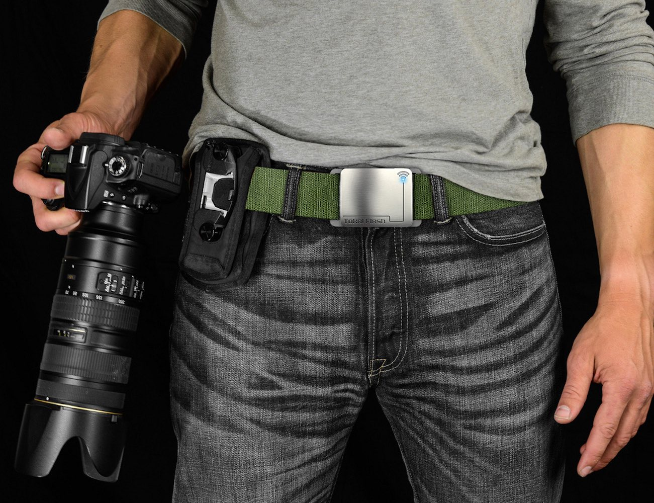 Toka!Flash – Smart Wearable Belt With Flash Drive Storage