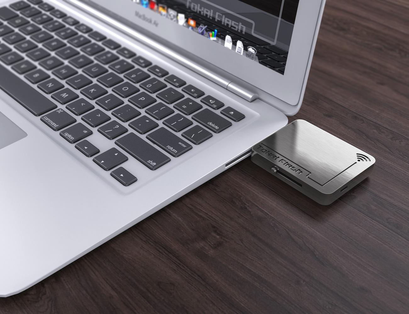 Toka!Flash – Smart Wearable Belt With Flash Drive Storage
