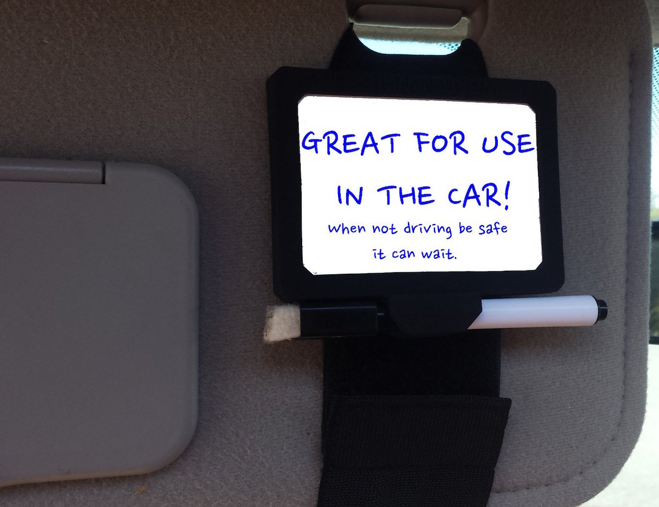 Wear-N-Write – Dry Erase Board That You Wear On Your Wrist